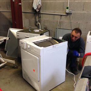 réparation d'un sèche-linge
