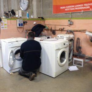 réparation d'un lave-linge